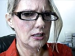 bridgett lee gets cumshot facial videos